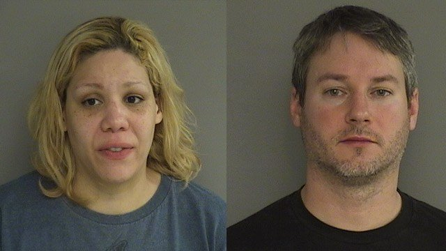 Nicole Glaser and Matthew Glaser. (Middletown police photo)
