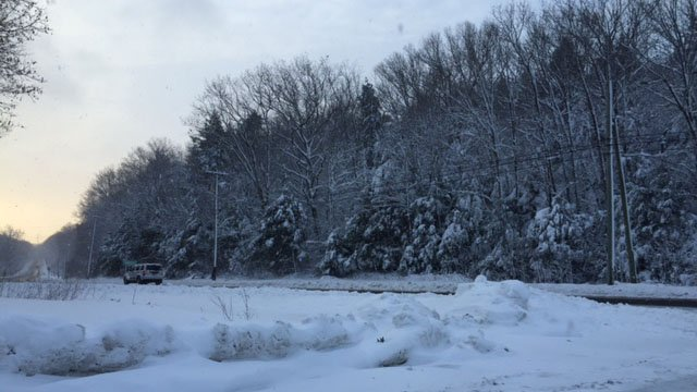 More than 18 inches of snow fell in Norfolk over the weekend. (iwitness photo)
