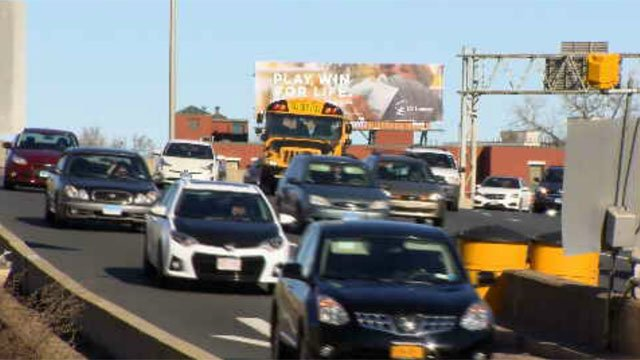 Millions were hitting the road for this holiday weekend this year (WFSB)