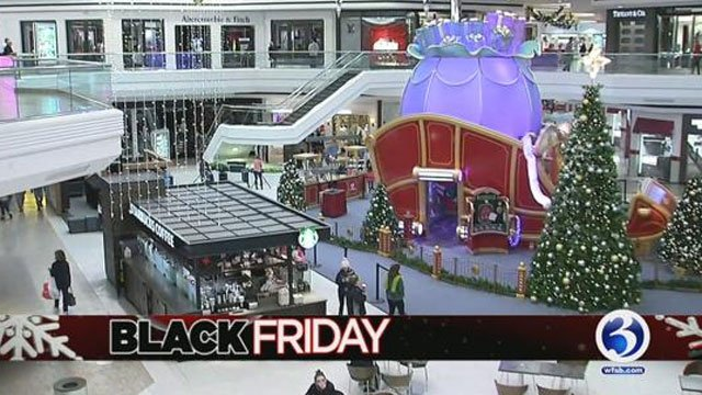 More than 100 million people nationwide will shop in stores and online on Black Friday. (WFSB)