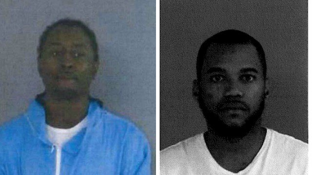 Leroy Sterling, 28, of Windsor (left) and Charles Miller, 28, of Saint Alban's, NY (right) were arrested after they tried to flee from state police. (State PD)