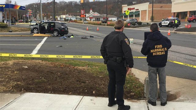 Bristol police said one person was killed after a motorcycle collided with a car on Route 6 Sunday morning. (WFSB)