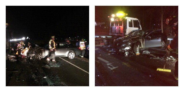 Six Injured In 3 Car Accident On Merritt Parkway Wfsb 3 Connecticut