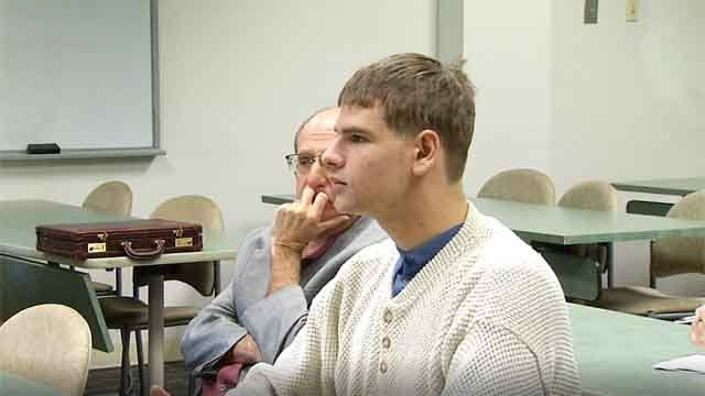 Nathan Carman during a previous probate court appearance. (WFSB file)