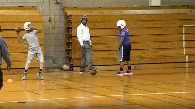 The Hartford PAL Wildcats youth football team won the New England Championship last weekend (WFSB)