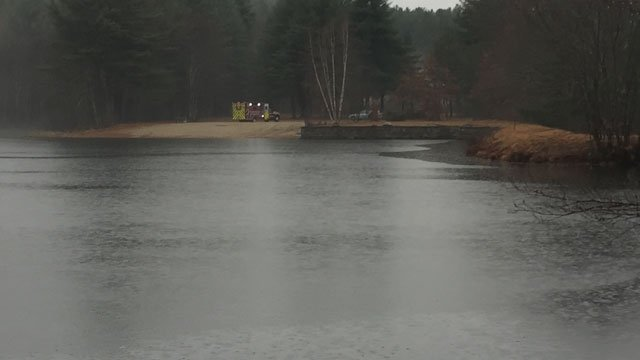 State police said they pulled a body from Hall's Pond in Willington. (WFSB)