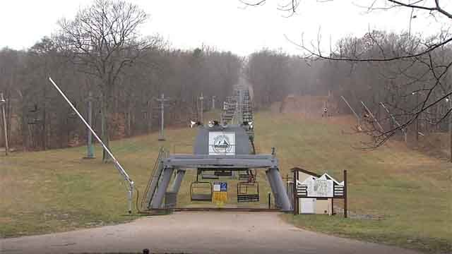 Some local ski slopes said they were looking forward to the wet weather on Tuesday. (WFSB)