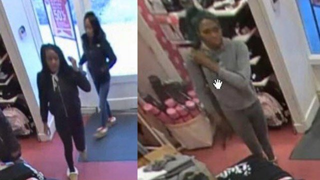 Police in Glastonbury need the public's help to identify these shoplifting suspects. (Glastonbury police photo)