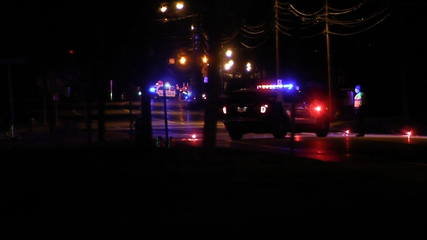 A skateboarder was killed in a hit-and-run along Route 5 in Enfield. (WFSB photo)