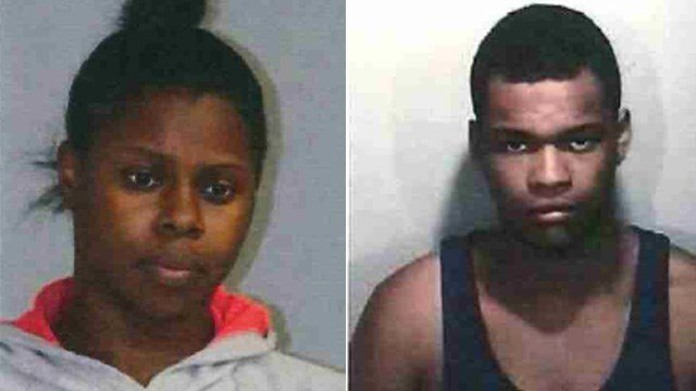 Maya Alexandia Almond-Lawson and Elijah Markkamau Collins. (State police photos)