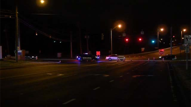 A driver is facing charges after a person was hit by a car on Saturday night (WFSB)