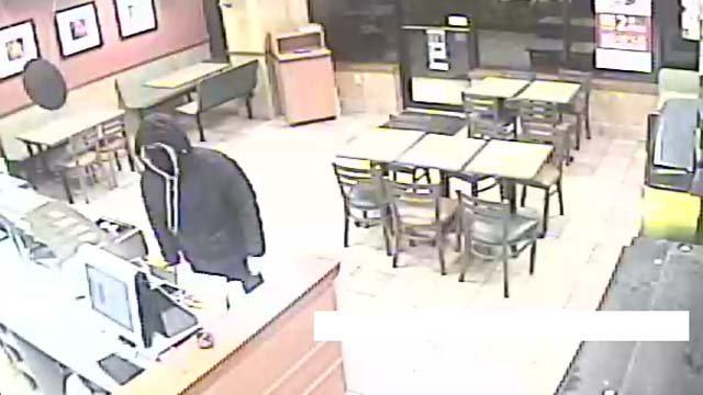 Police say this man robbed a Subway in Torrington on Saturday night (Torrington police)