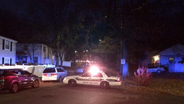 A man was found dead near a basketball court in New Haven on Monday (WFSB)