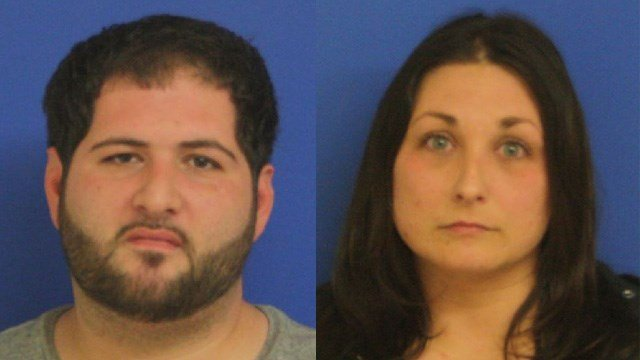 Edward Santomassimo and Jeanna Suraci. (East Haven police photos)