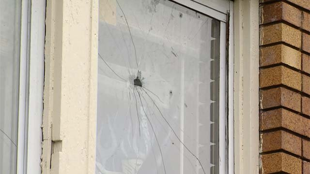 Shots were fired into a Hartford apartment where children were watching TV (WFSB)