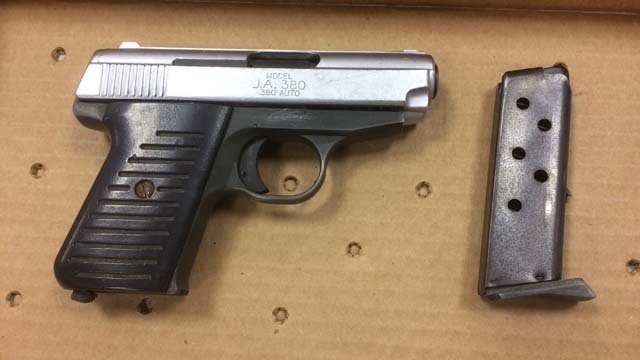 One of the guns used in the shooting (Hartford police)