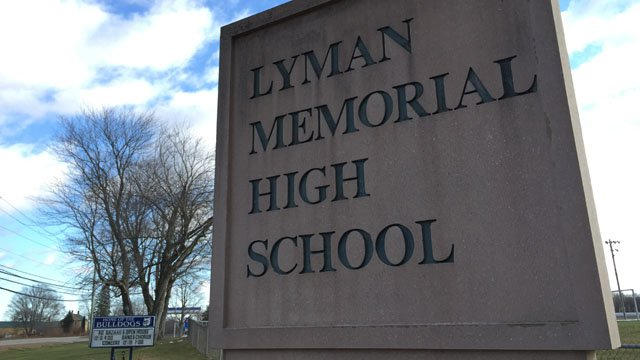 Lyman Memorial High School. (WFSB photo)