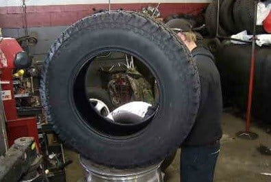 Mechanics at All-Pro Tire Country said Snow tires in high demand before upcoming snow storm. (WFSB)