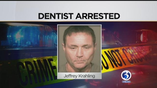 Jeffrey Krahling was arrested for breaking into a woman's home Friday. (WFSB)