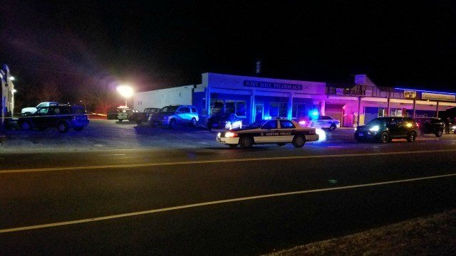 Groton police are investigating a deadly shooting outside of a bar Sunday morning. (Eyewitness photo)