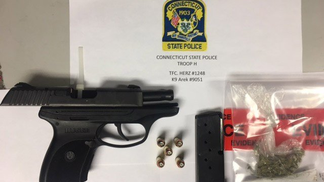 The Ruger found to be stolen in Naseem Wilson's vehicle. (State police photo)