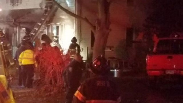 Police have identified the two people who died after a house fire in Rocky Hill over the weekend.(WFSB)