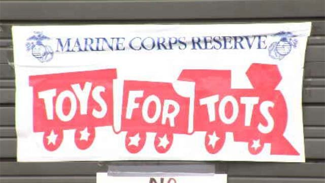 CT Toys for Tots warehouse in need of donations (WFSB)