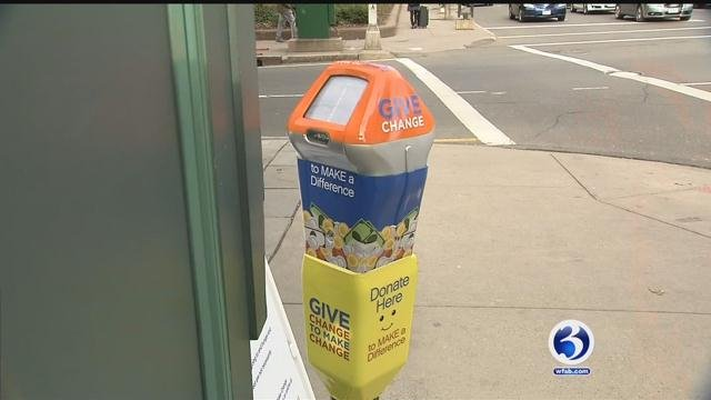 New Haven meters are helping the homeless (WFSB)