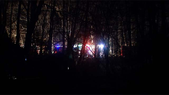 One person was killed in a crash on Route 9 south in Essex Tuesday night. (WFSB)
