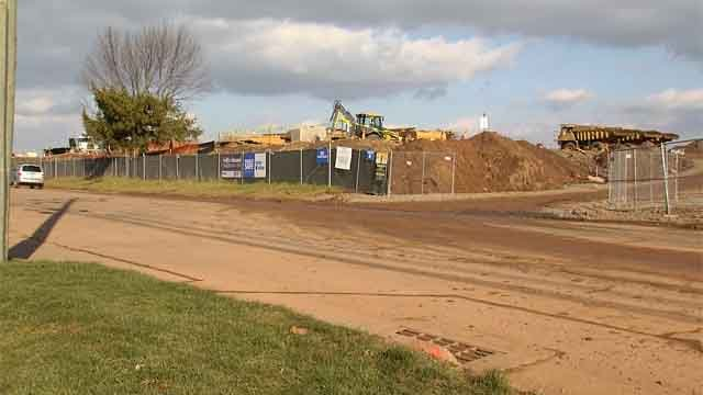 One of the largest construction projects in recent memory in Middletown is well underway. (WFSB)