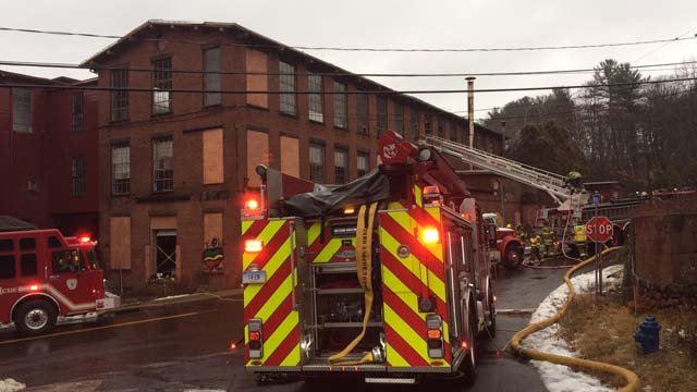 No injuries were reported in the fire. (WFSB)