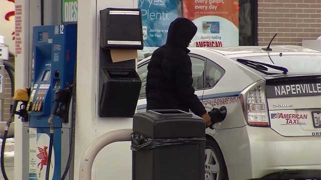 Gas prices are on the rise. (WFSB file photo)