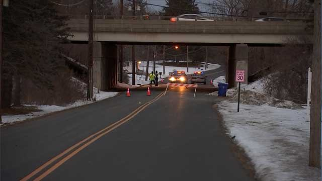 At least one person was killed in a crash in Enfield on Monday afternoon. (WFSB)