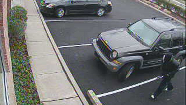 Police are looking for this suspect in a Norwalk bank robbery. (Norwalk police photo)