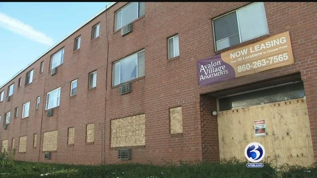 Families remained homeless after a fire last week in Hartford. (WFSB)