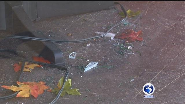 Thousands of dollars worth of damage to a New Britain store was done so thieves could get their hands on a $30 toy. (WFSB)