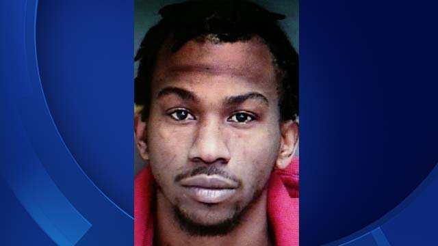 Dante Hughes accused of shooting and killing another man outside a bar in Groton earlier this month was located near the United States/Canada border. (Groton Town Police Department)