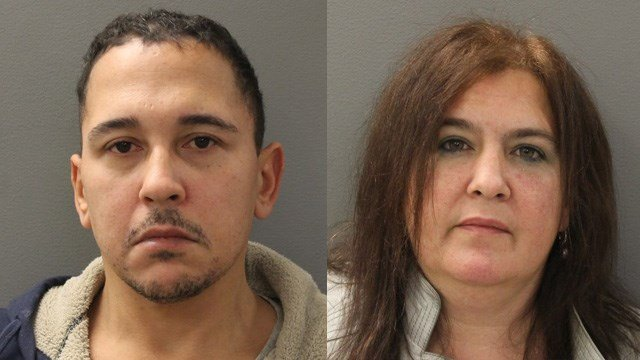 Jack Humphrey and Lisa Zielinski. (Hamden police photos)