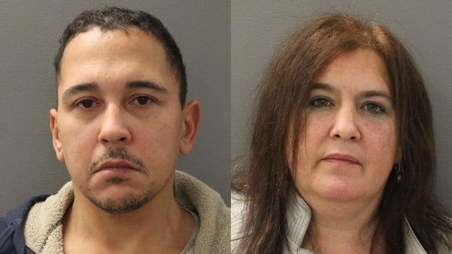 Jack Humphrey and Lisa Zielinski. (Hamden police photos)
