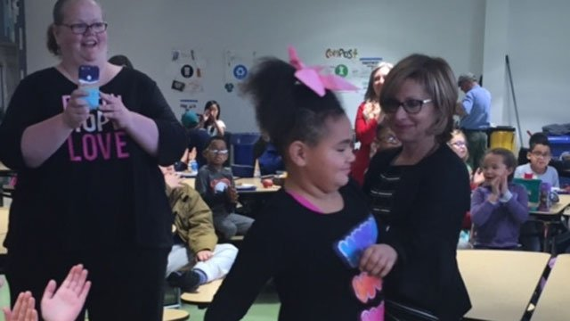 Faith Brown got the surprise of a lifetime after her good deed. (WFSB)