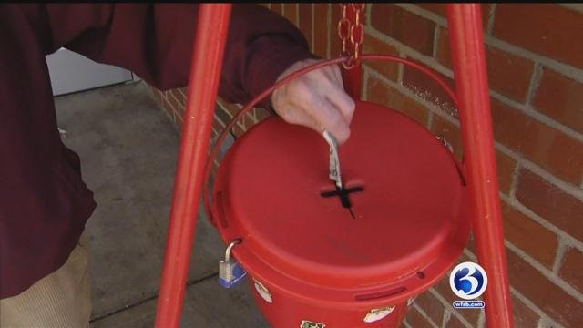 Donations were down for the Salvation Army in Connecticut, so far this year. (WFSB)