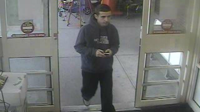 Clinton police say this man stole energy drinks on at least three separate occasions. (Clinton police photo)
