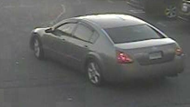 The suspect's Nissan Maxima. (Clinton police photo)