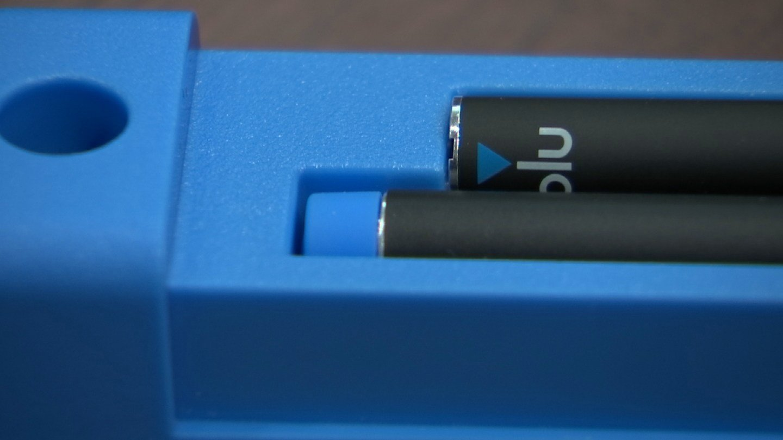 U.S. Sen. Richard Blumenthal seeks safety measures for e-cigarettes On Thursday morning. (WFSB)