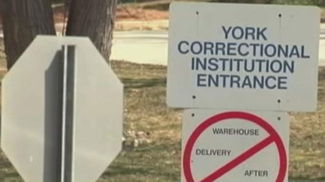 Authorities are investigating the apparent suicide of a woman being held at York Correctional. (WFSB file photo)