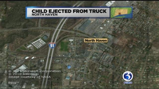 A six-year-old boy is fighting for his life after a serious crash along Interstate 91 in North Haven. (WFSB)