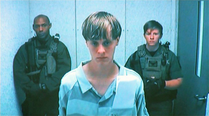 Dylann Roof, the suspect in the shooting death of nine people at a South Carolina church.  (WCSC)