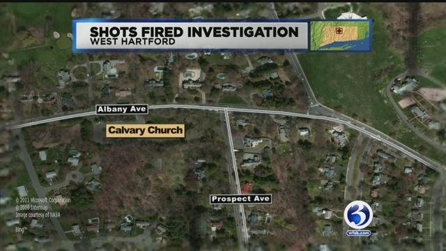 Police said a disturbance began at a house party on the Hartford side of Prospect Avenue. (WFSB)
