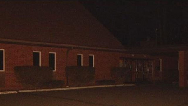 Officers responded to calls of gunfire at the Calvary Church parking lot on Wednesday night. (WFSB)