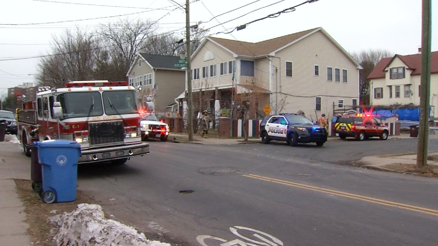 One woman was taken to the hospital after fire at a multi-family home in New Britain. (WFSB)